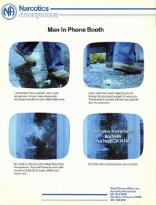 "Story board for ""man In Booth"" PSA"