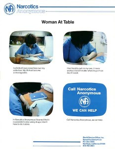 Woman at Table - TV PSA #2